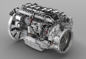 El motor de 13 litros más potente de Scania tiene una potencia total de 540 caballos