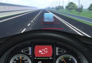 Kamiony DAF mají nyní systém AEBS třetí generace