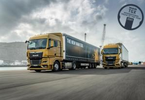 The new generation MAN TGX tractor: an efficient long-distance transport solution
