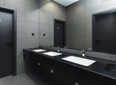 TIRCENTRUM háttér - mosdó